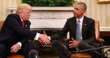Tramp və Obama birgə görüşün yekunları barədə danışıblar