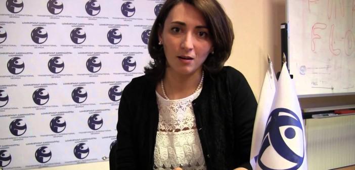 Eka Gigauri – Korrupsiyanın ən aşağı göstəricisi ilə, Gürcüstan regionda liderdir